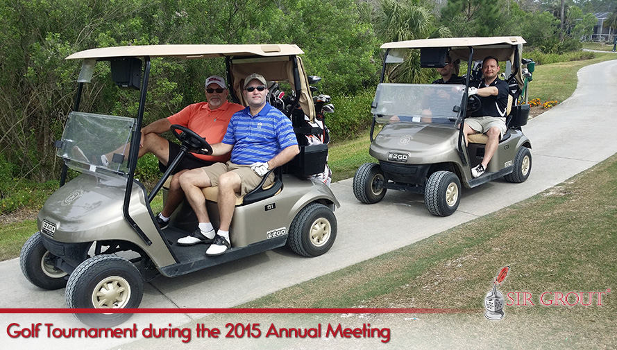 Golf Tournament during the 2015 Annual Meeting