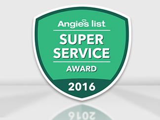 Angie's List Super Service Award 2016 for Several Sir Grout Franchises