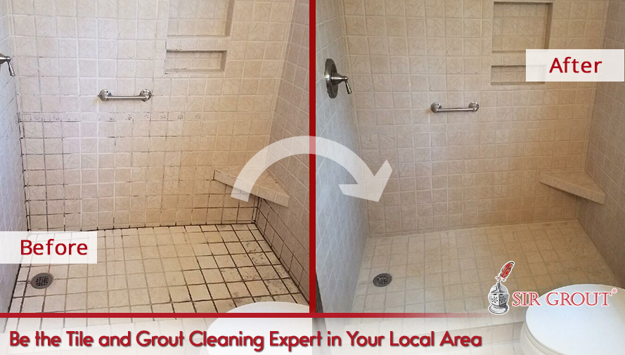 Become the Grout Cleaning and Restoration Expert in Your Local Area