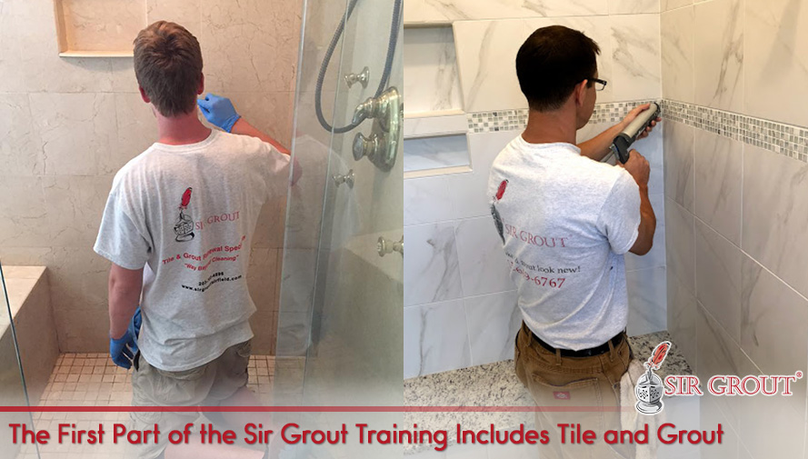 Sir Grout Tile and Grout Training