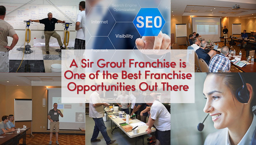 Sir Grout Franchise is One of the Best Franchise Opportunities Out There
