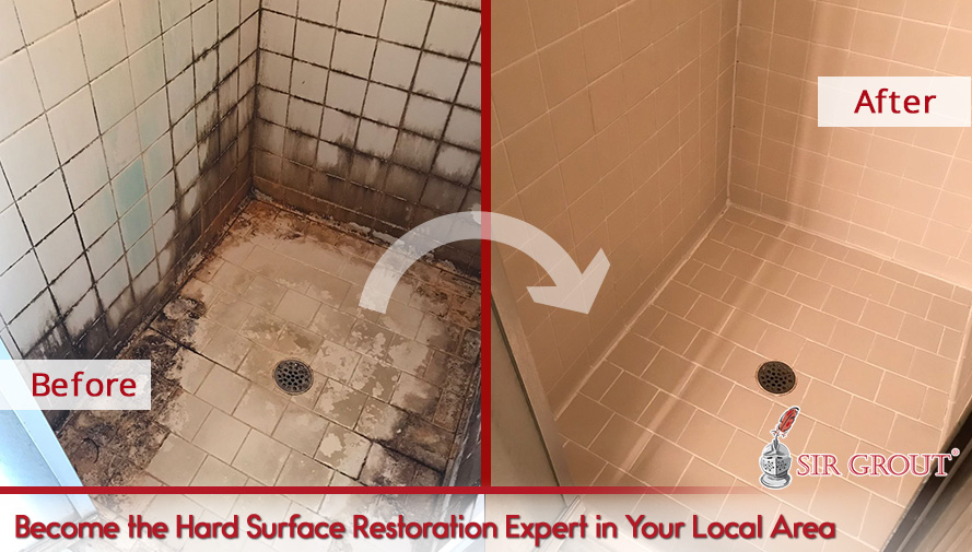 Become the Hard Surface Restoration Expert in Your Local Area
