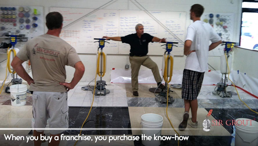 When you buy a franchise, you purchase the know-how