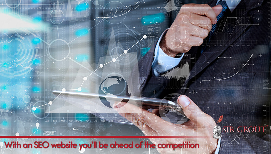 With an SEO website you'll be ahead of the competition