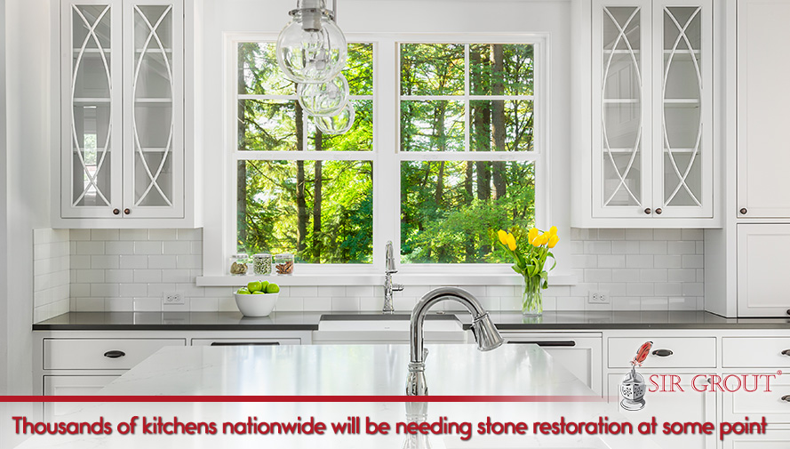 Thousands of kitchens nationwide will be needing stone restoration at some point