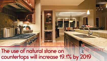 natural stone countertops onyx picture of kitchen with natural stone countertops the increasing demand for natural stone countertops provides great