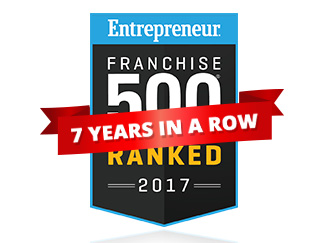 Home Services Franchise Ranked #231 Overall; Top 25 in the Home Improvement Category for 2017
