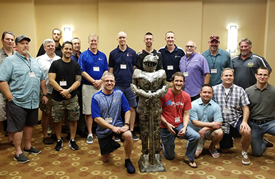 Group of Attendees to The Best Home Improvement Franchise Sir Grout's Annual Meeting
