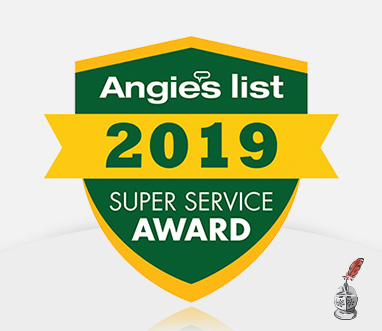 Image of Angie's List Super Service Award Badge for Sir Grout
