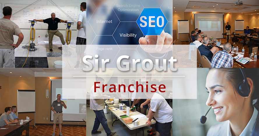 Set of Images of Differet Stages of Trainning and Support Provided by Sir Grout Franchise