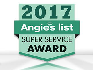 Picture of Angie's List Super Service Award Badge Granted To Sir Grout for Best Customer Service