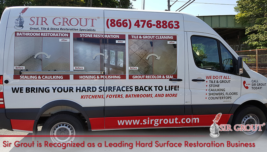 Sir Grout Is Recognized as a Leading Hard Surface Restoration Business