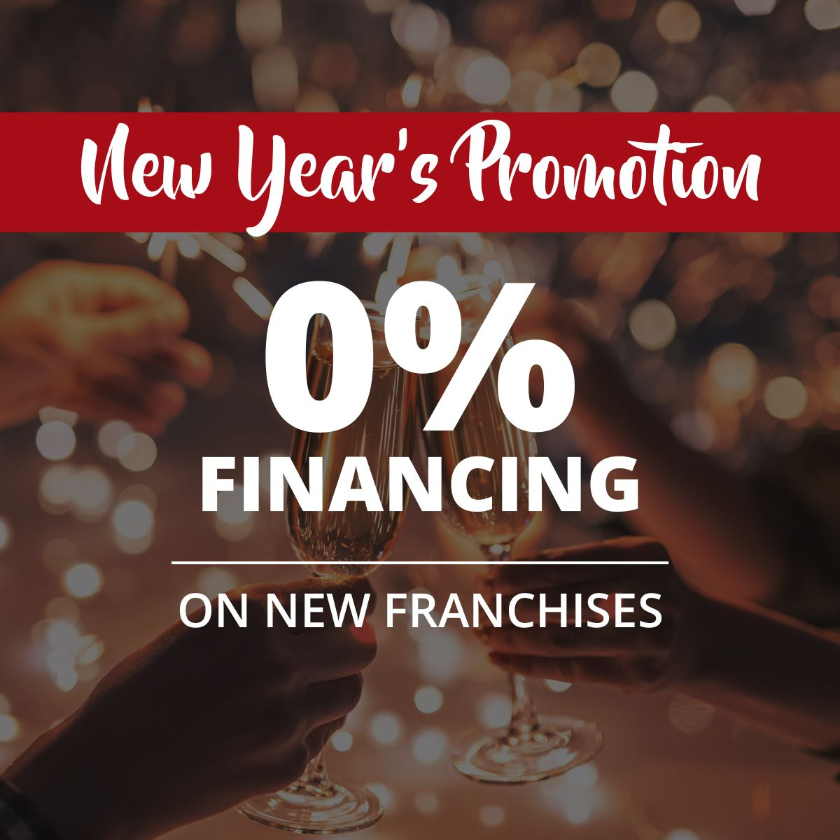 New Year's Promotion 0% Financing