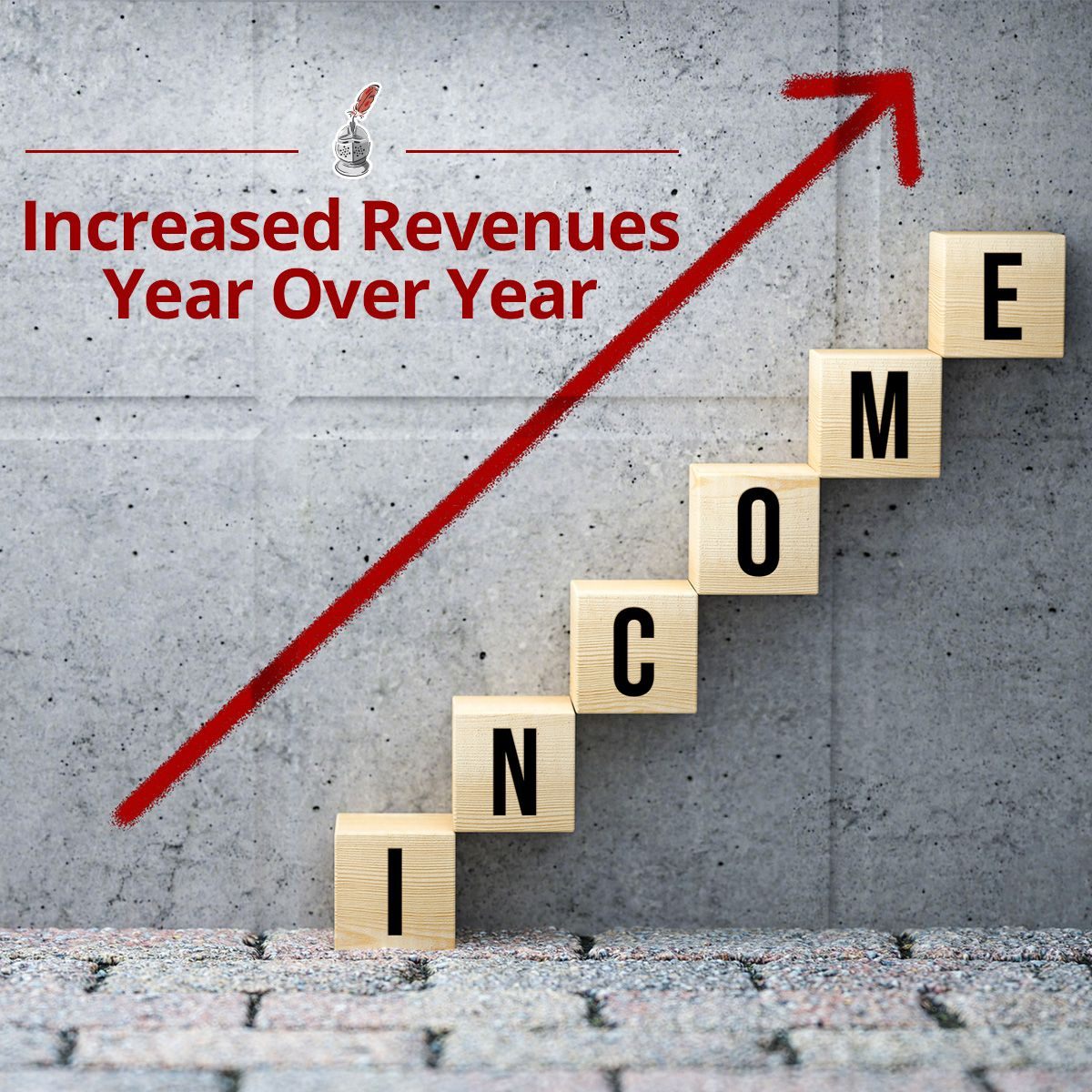 Increased Revenues Year Over Year