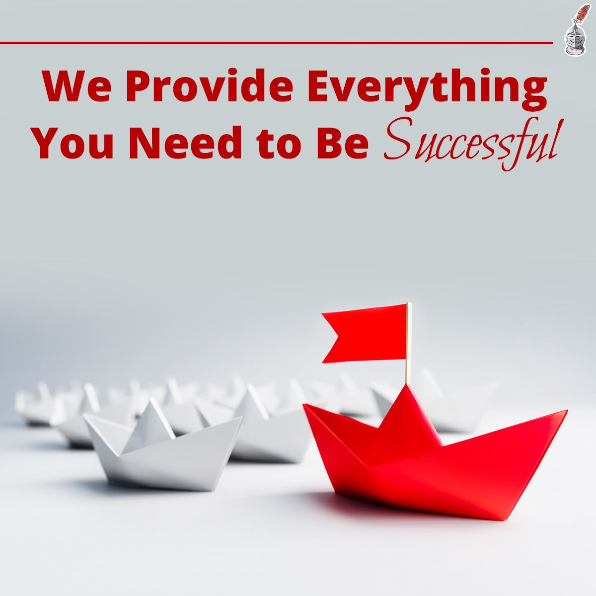 We Provide Everything You Need to Be Successful